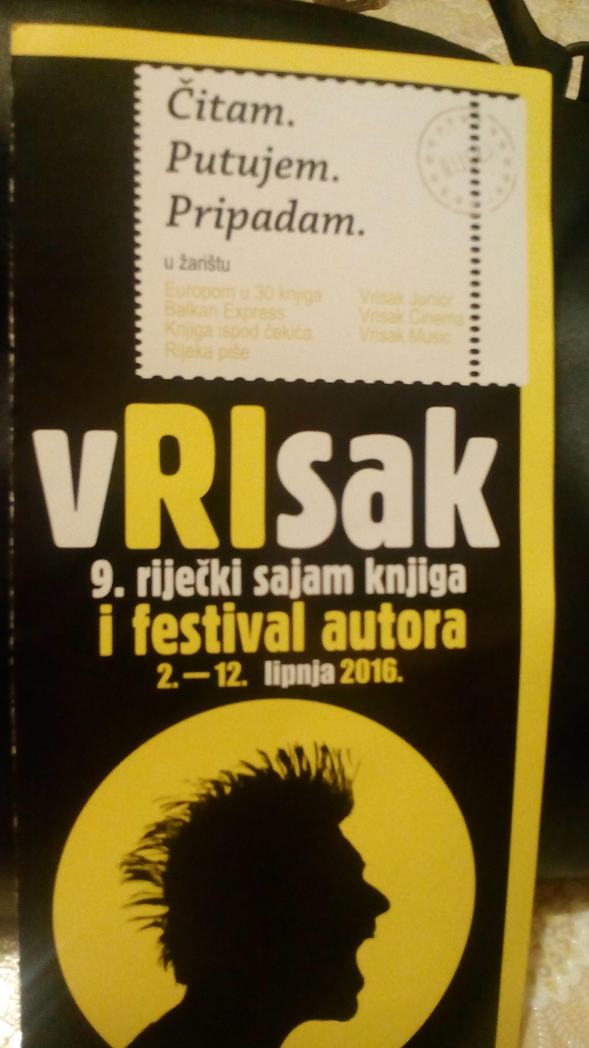 OTVOREN vRIsak, 9.riječki sajam knjiga i festival autora